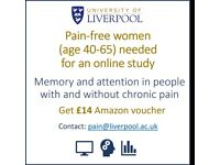 Online research participants needed