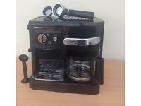Delonghi espresso and filter coffee machine maker