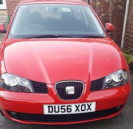 Red Seat Ibiza Sport 16V 1.4 3 Door Hatchback