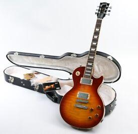 2008 Gibson Les Paul Standard Flame Top Cherry Sunburst & Gibson Hard Case