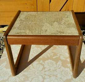 Upcycled retro table