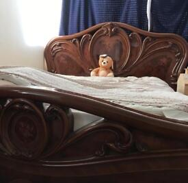 Italian bed and mattress king size