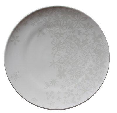 *Authentics* Teller Ø33cm flach Dekor -butterfly flower- Porzellan Table Stories