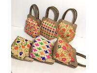 Vibrant ethinic Indian handbags