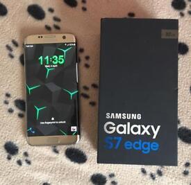 S7 edge platinum gold 32gb unlocked