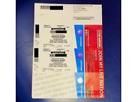 2x Depeche Mode Global Spirit Tour London - PREMIUM SEATS - Tickets Ready - Free Delivery / collect