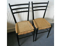 2 Chairs for Re-Stringing Project - £10 the pair