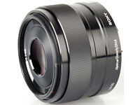 Sony camera lens - 35mm F1.8 E mount