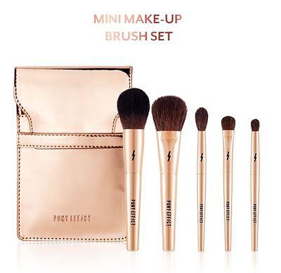 [PONY EFFECT] MINI MAKE-UP BRUSH SET(5 ITEMS) - Korean Cosmetics