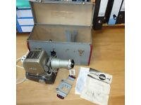 Aldis projector for slides and film rolls