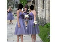 Stunning Veromia Bridesmaid Dresses (2 available) will sell separately