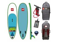 Surf stand up paddle board. 8'10 red whip 2016 nearly new.