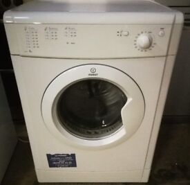 INDESIT VENTED 6KG TUMBLE DRYER IN GOOD WORKING ORDER