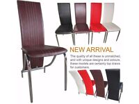 Dinning chairs brand new 75%off clearence