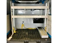 Van Racking / Shelving - VW Caddy Maxi - British Gas - Good Condition - Tool Station