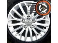 "16"" Genuine Audi A3 Sportback new shape alloys perfect cond premium tyres."