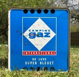 Vintage Camping Gaz International De Luxe Super Bleuet - camping gas set