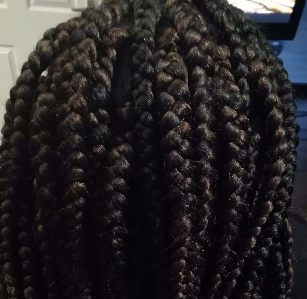 One of Best afro hair stylist in town!!!Extensions weaves box braids treatments ghana braids cornrow