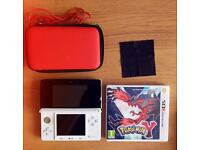 Nintendo 3DS, Pokémon Y, Case and charger