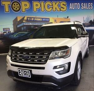 2016 Ford Explorer XLT, LEATHER, SUNROOF, NAVIGATION, AND MORE!