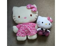 Hello Kitty Cushion and Cuddly Toy