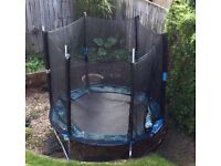FREE Garden Trampoline approx 8 ft diameter