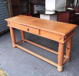 SOLID WOOD HALL TABLE IDEAL FOR PAINTING