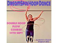 Hula Hoop Classes - Twin Hoop Course - Double Trouble! Starts 14th September