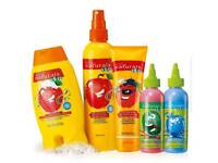 Avon kids shampoo and conditioner