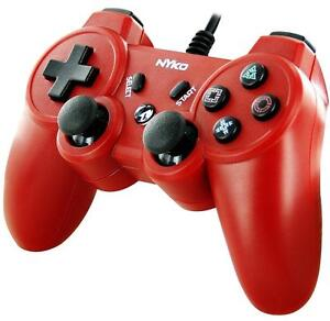 Nyko Core PS3 Wired Controller - PlayStation 3 - Red (No Box)