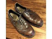 Steel Toecapped Leather Shoes Size 8/9