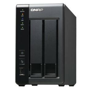 QNAP TS-219P II - 2 Bay Hotswap NAS, Like New