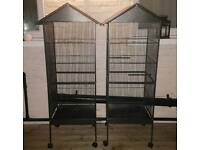 2 NEW MASSIVE PARROT BIRD CAGES FOR SALE