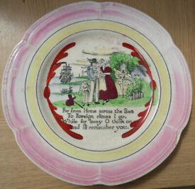 Sailors Farewell plate