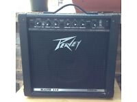 "Peavey Blazer 158 Combo Guitar Amp Channel EQ Reverb 15w 8"" Speaker Transtube"