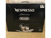 Brand new DeLonghi Lattissima Plus Nespresso machine