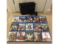 PS4 with controller - loads of games available