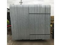 💧New Round Top Heras * Temporary Security Fencing Sets * X 35