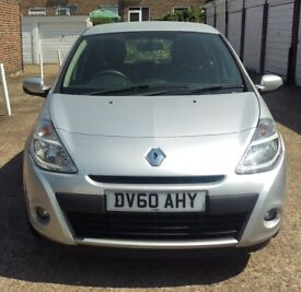 2010 RENAULT CLIO 1.5 DCI DIESEL 5DR 6 MONTHS WARRANTY PX WELCOME
