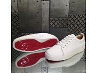 White Low Top Christian Louboutin Trainers