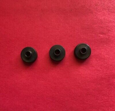 Nos Lot Of 3 302204-0-10 Knob For Rimoldi Sewing Machines