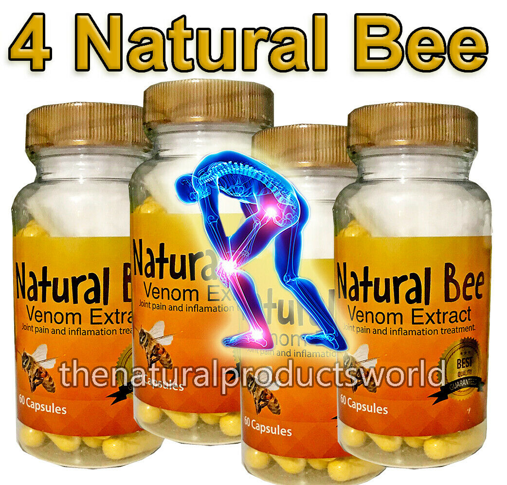 NATURAL PREMIUM BEE anti-inflammatory Miracle Arthritis Pain Relief Abee Therapy 1