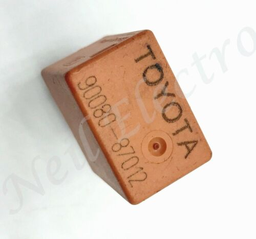 Toyota Lexus /95-10 Genuine Multi-Use 5-Pin Orange Relay 90080-87012 Bosch 03322