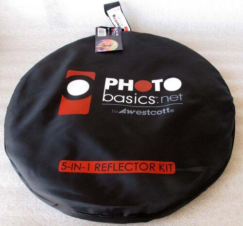 "Westcott 5-in-1 Reflector Kit 40.5"" Photo Basics - $$ LOWERED"