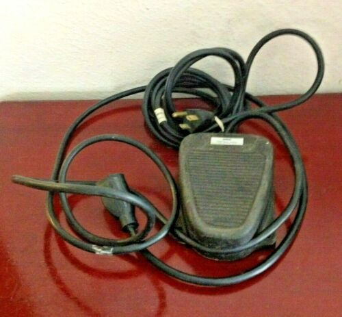 BUFFALO SOLID STATE CONTROL FOOT PEDAL. FOR BUFFALO BENCH ENGINES. WORKS. USA