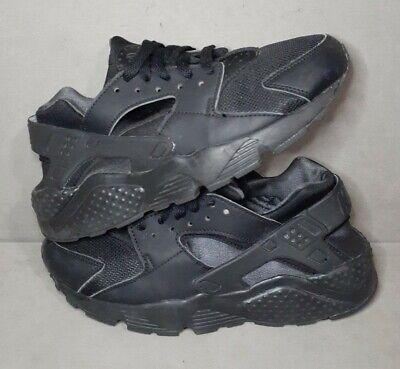 RARE Nike Huarache Black Sneakers Shoes 654275-020 Size 6Y