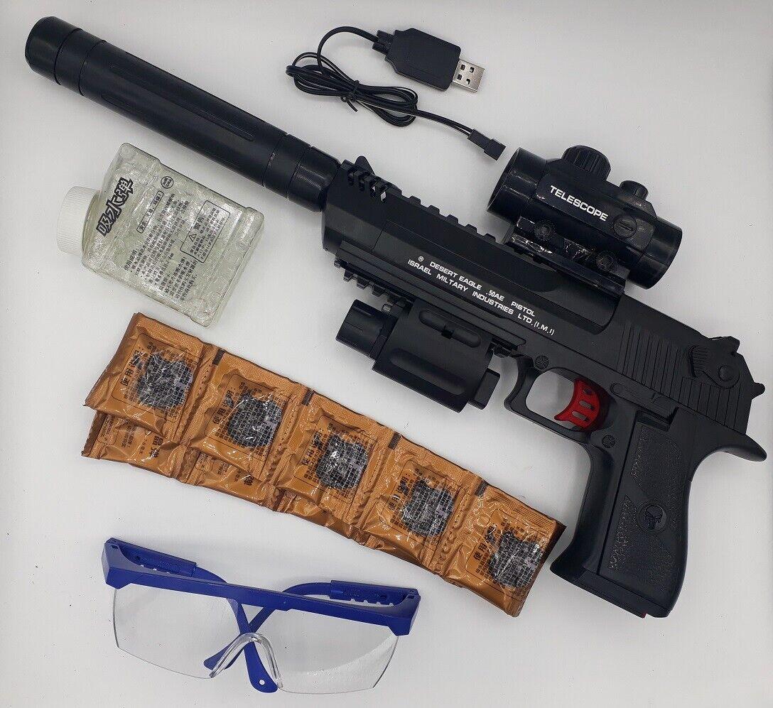 Automatik Hydrogel Pistole Kugelpistole Wasserkugel Kugeln Munition Softair Gun