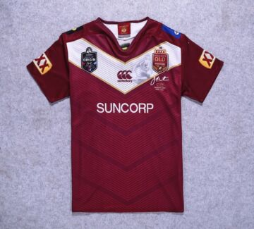 Queensland Maroons 'Thurston Farewell' Jersey