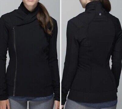 $118 Lululemon Bhakti Yoga Jacket Black SZ 6 NO Flaws