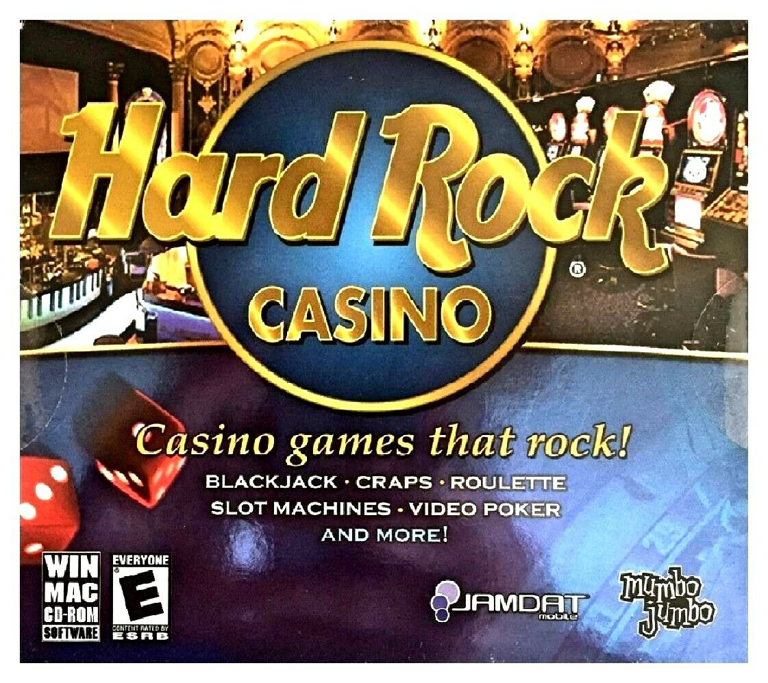 Computer Games - Hard Rock Casino PC Games Windows 10 8 7 XP Computer craps video poker slots NEW
